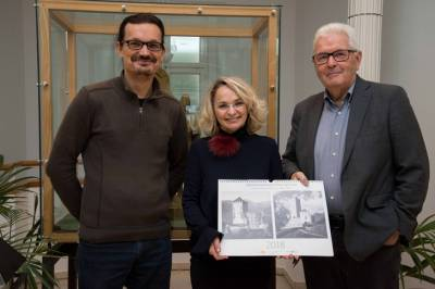 Dr. Martin Kofler, Bgm. Elisabeth Blanik, Dr. Richard Piock