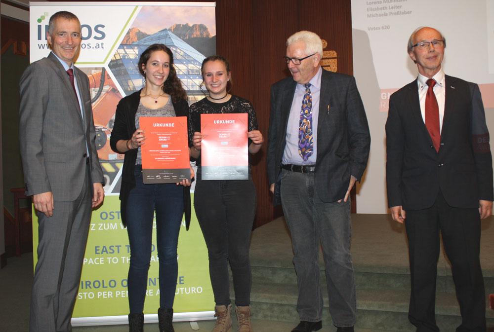 (FH) Martin Bergerweis, Dr. Richard Piock, Michaela Preßlaber, Elisabeth Leiter, HR Mag. Wolfgang Schneeberger