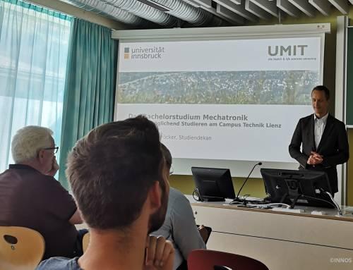 Einzigartiges Angebot in Lienz: Berufsermöglichendes Bachelorstudium am Campus Technik Lienz