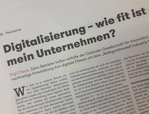 Digital Check_Artikel der WK Tirol