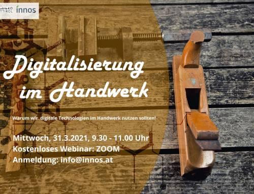 Kostenloses Webinar: Digitalisierung im Handwerk