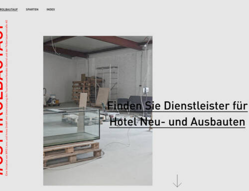 osttirolbautauf.at – Firmenverzeichnis präsentiert Osttiroler Betriebe online