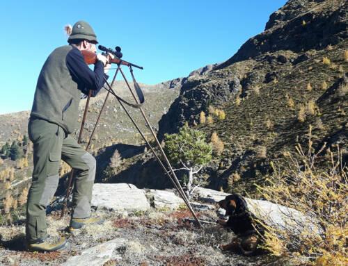 Waidgerechte Jagd mit dem Deferegger Pirschstock