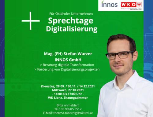 Sprechtage für Digitalisierung: Fortschritt und Chance für Osttiroler Unternehmen