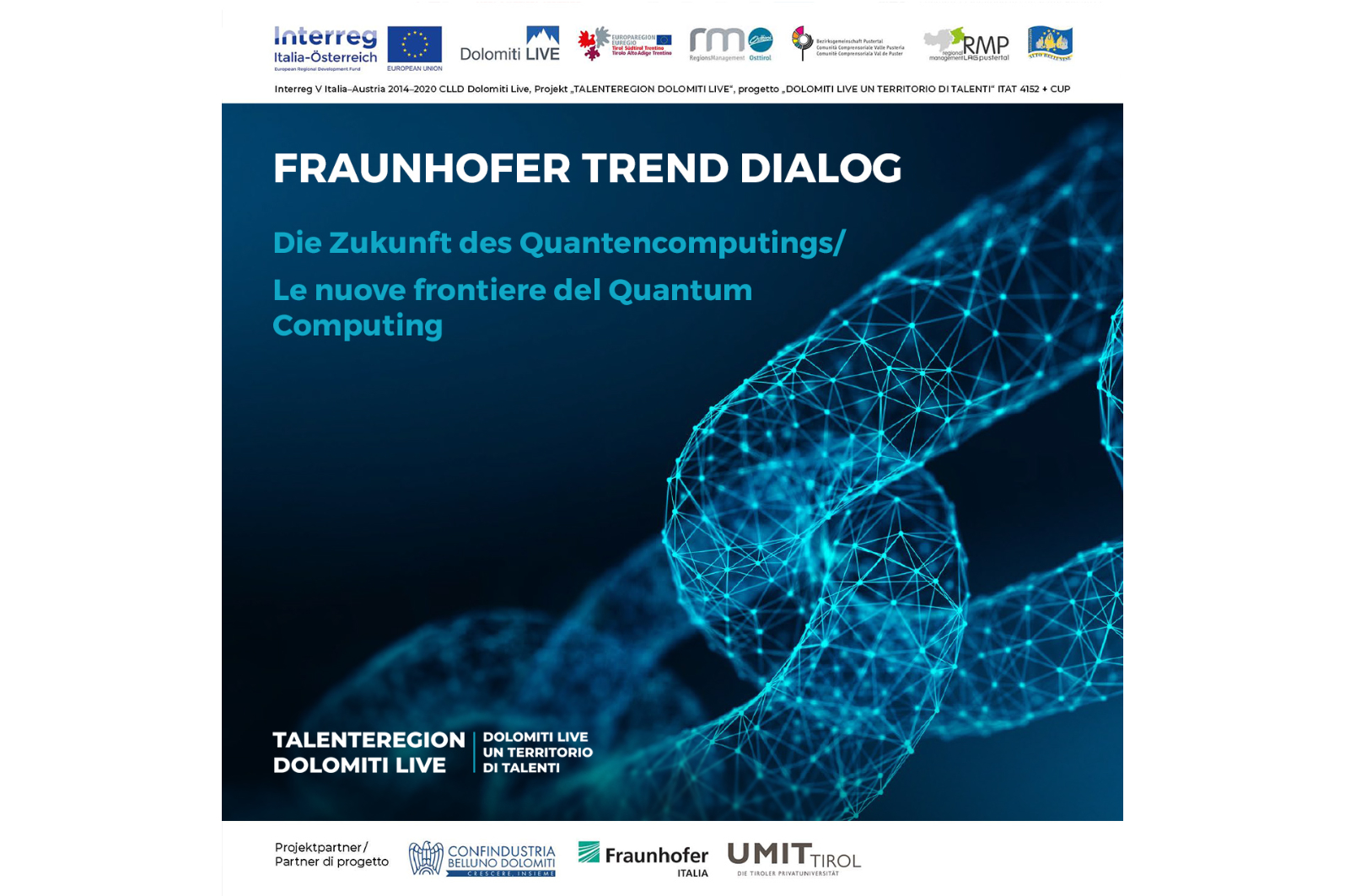 Webinar Zukunft Quantencomputing Fraunhofer September Rom